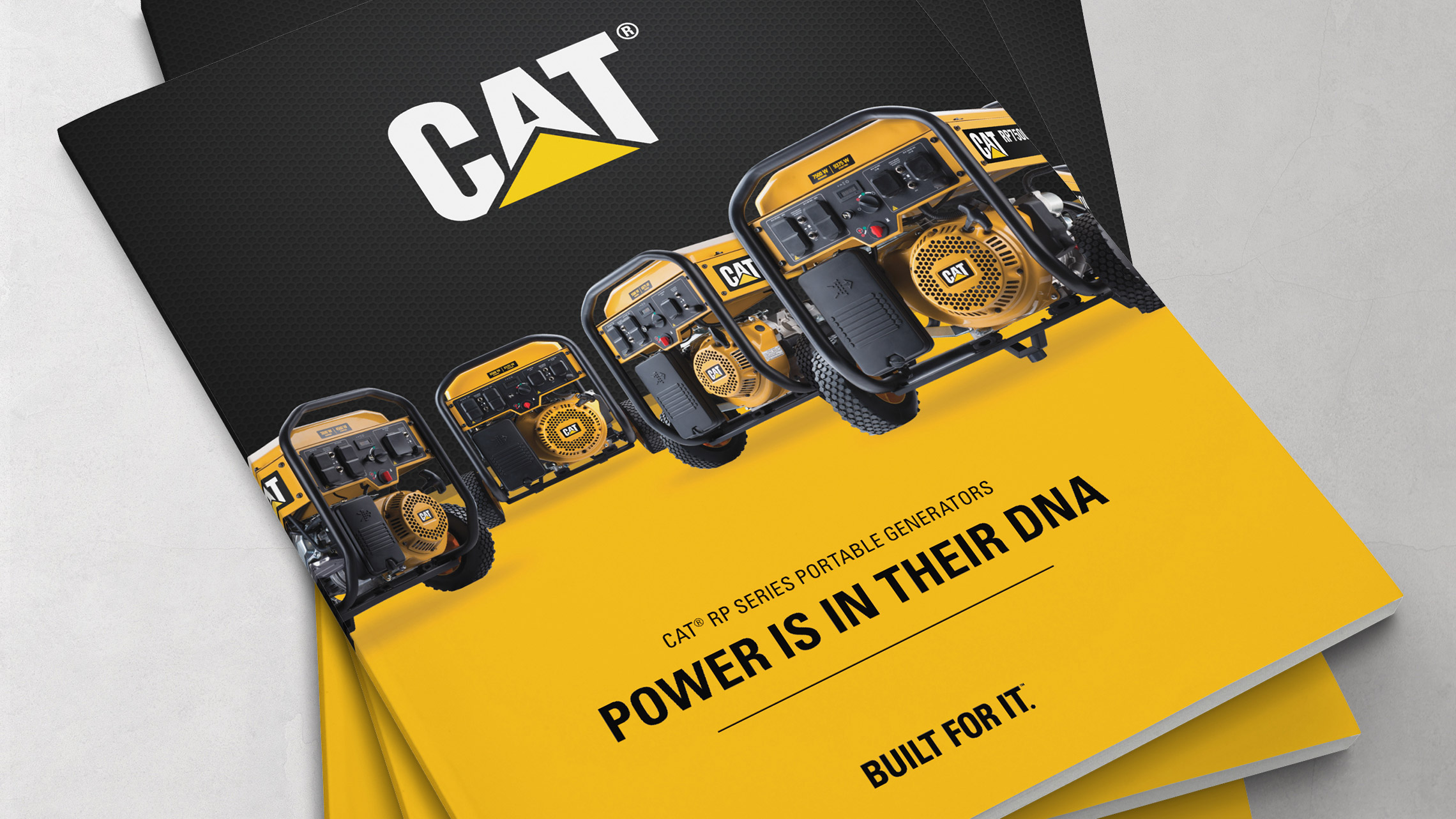 caterpillar consumer launch brochure