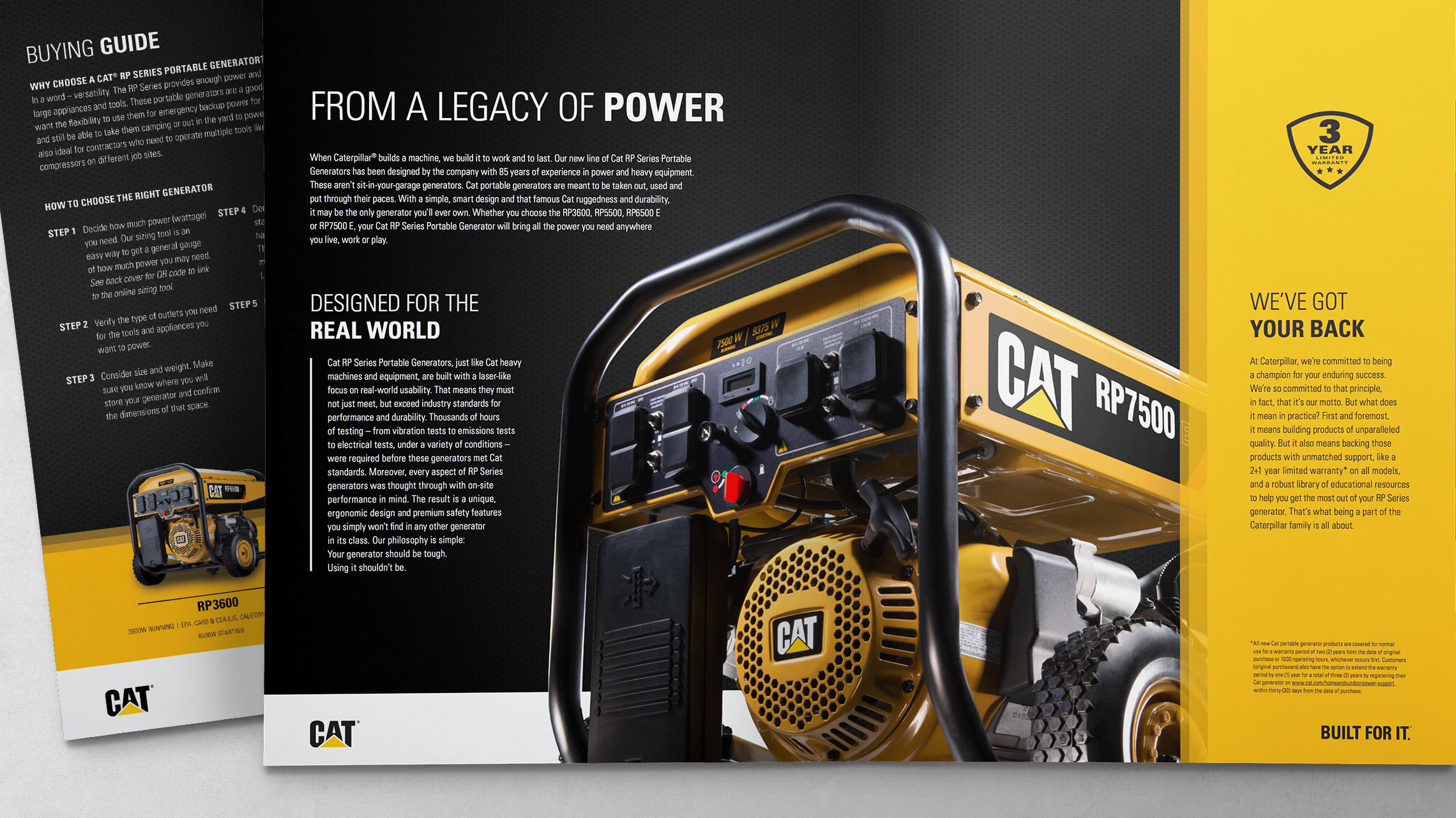 caterpillar consumer launch package