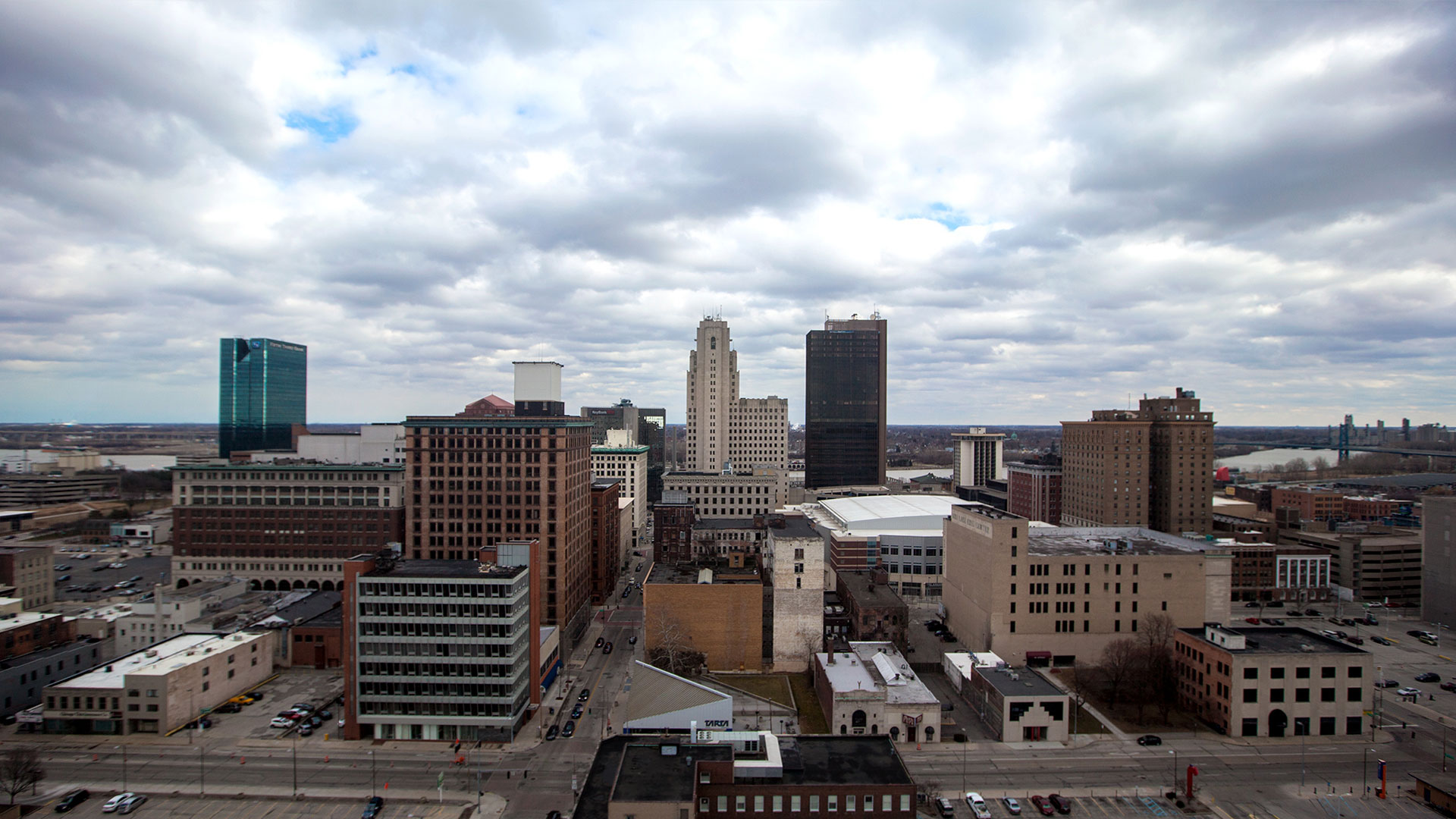 Office View of Toledo Skyline