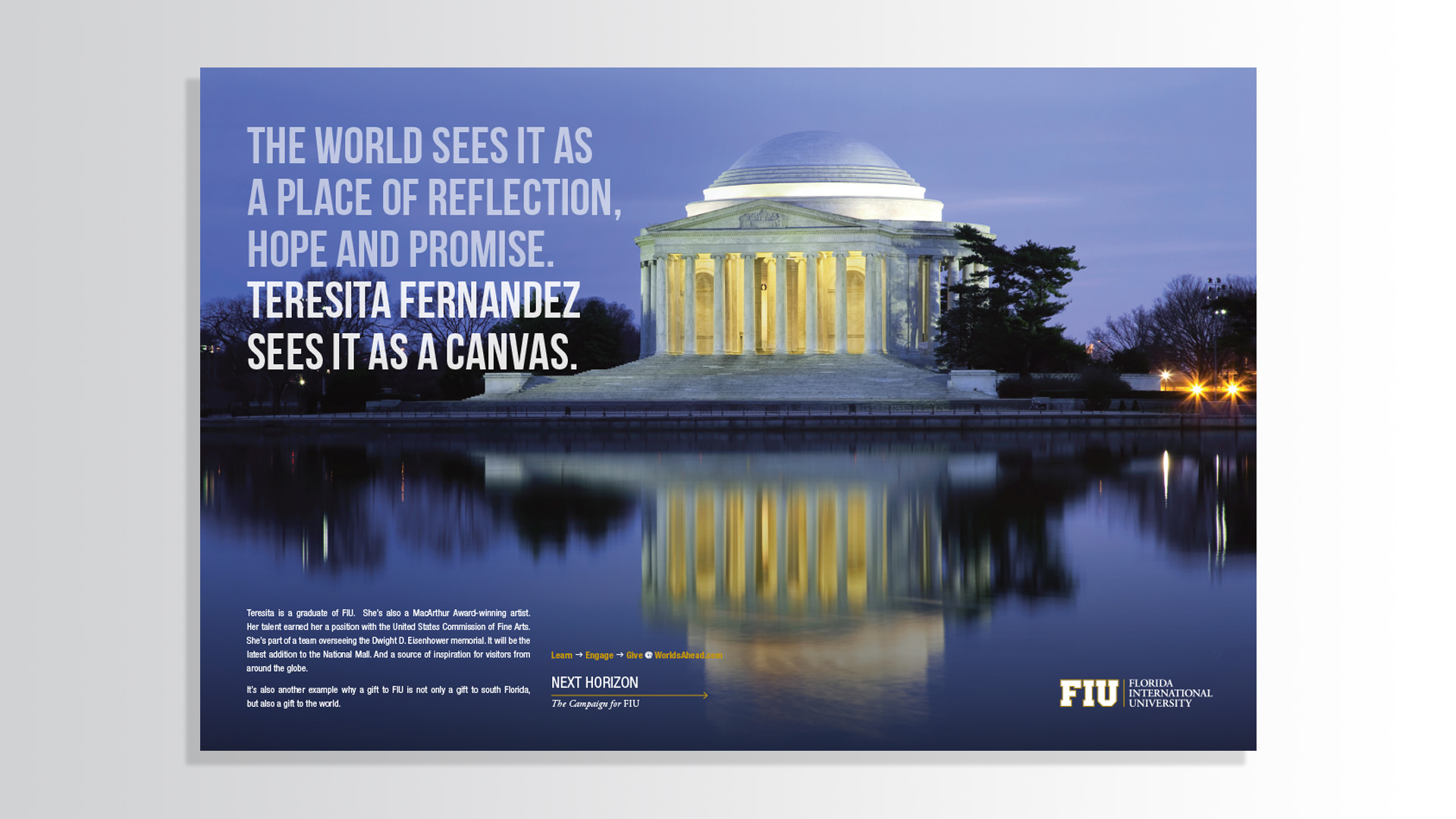 Florida International University Campaign Ad 1